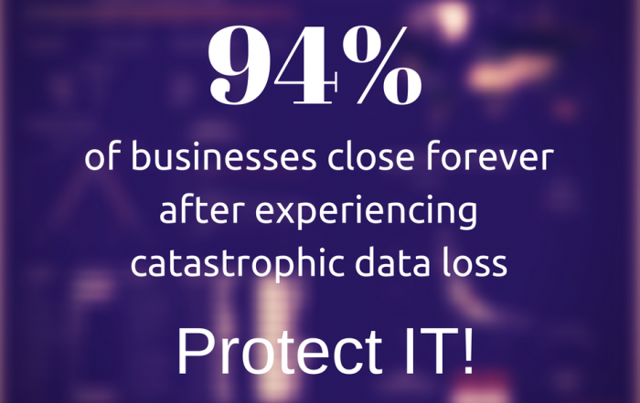 protect it from catastrophic data loss