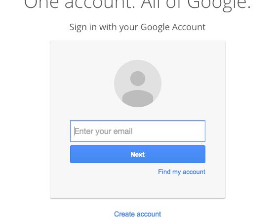 Google Login or is it?