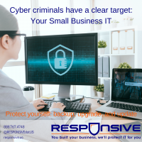 yber criminals target small business IT