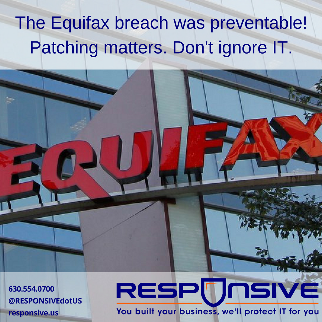 Equifax Breach Patch IT