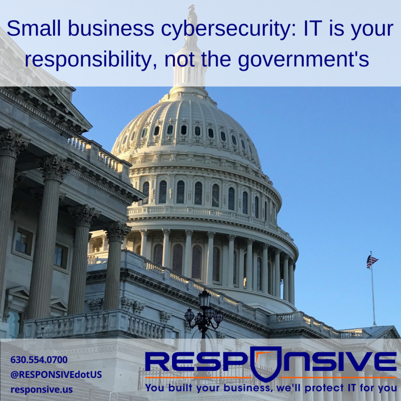 Small Business Cyber Security Responsibility
