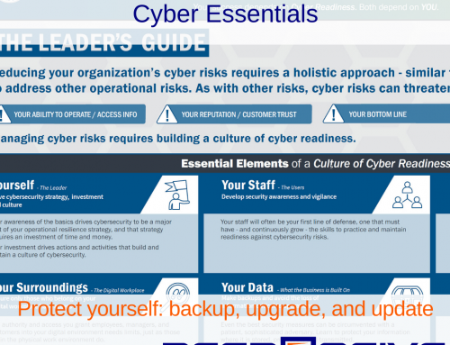 CISA Releases Cyber Essentials for Small Businesses and Governments