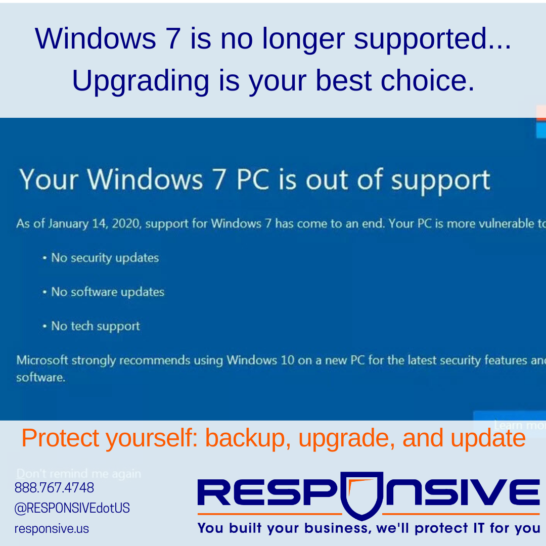 Windows 7 End of Support Brings the End of an Era