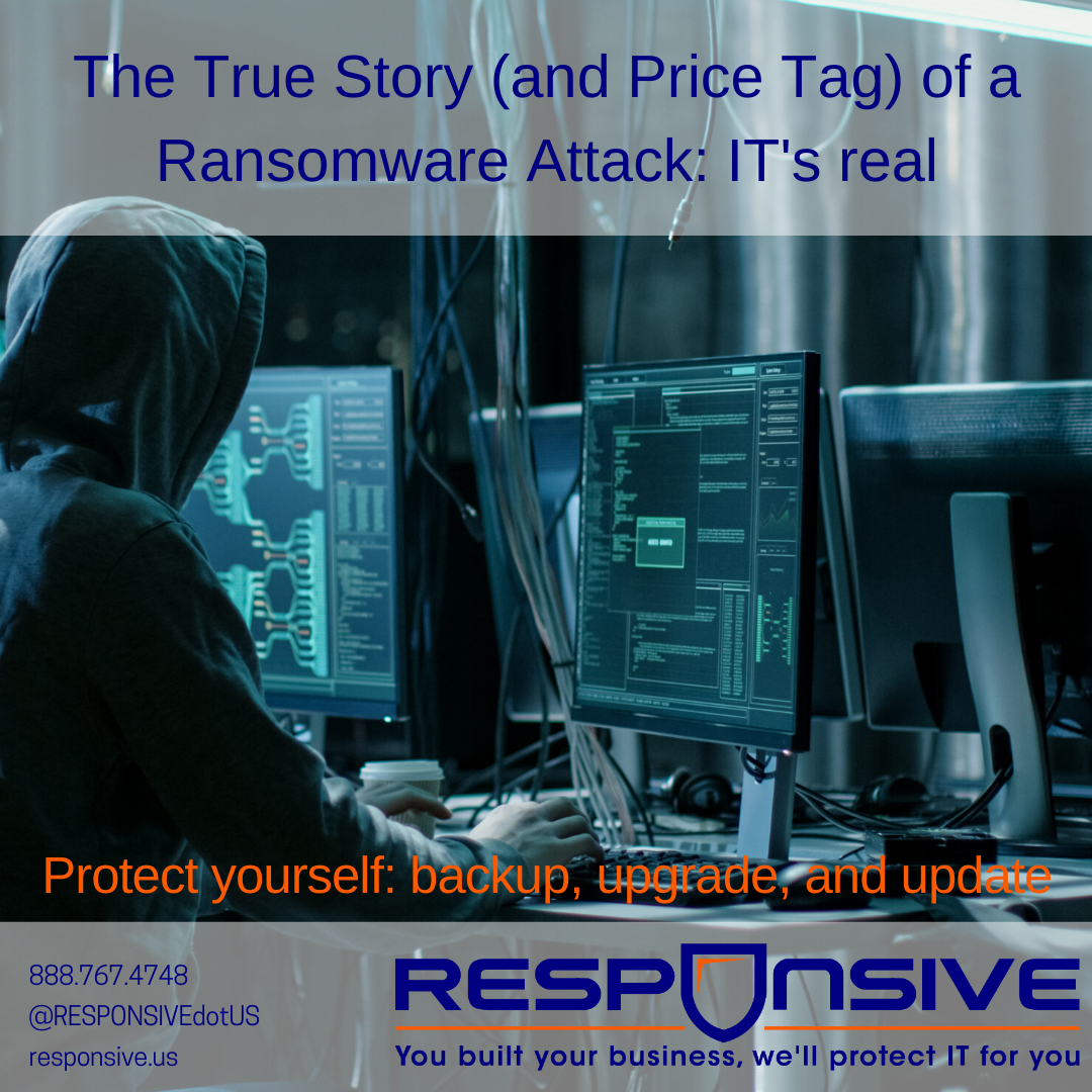 The True Story (and Price Tag) of a Small Organization Ransomware Attack