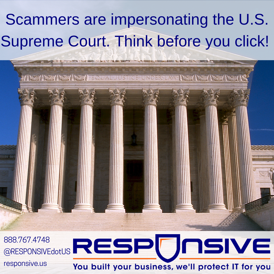 Don't Trust Fake Emails From The Supreme Court