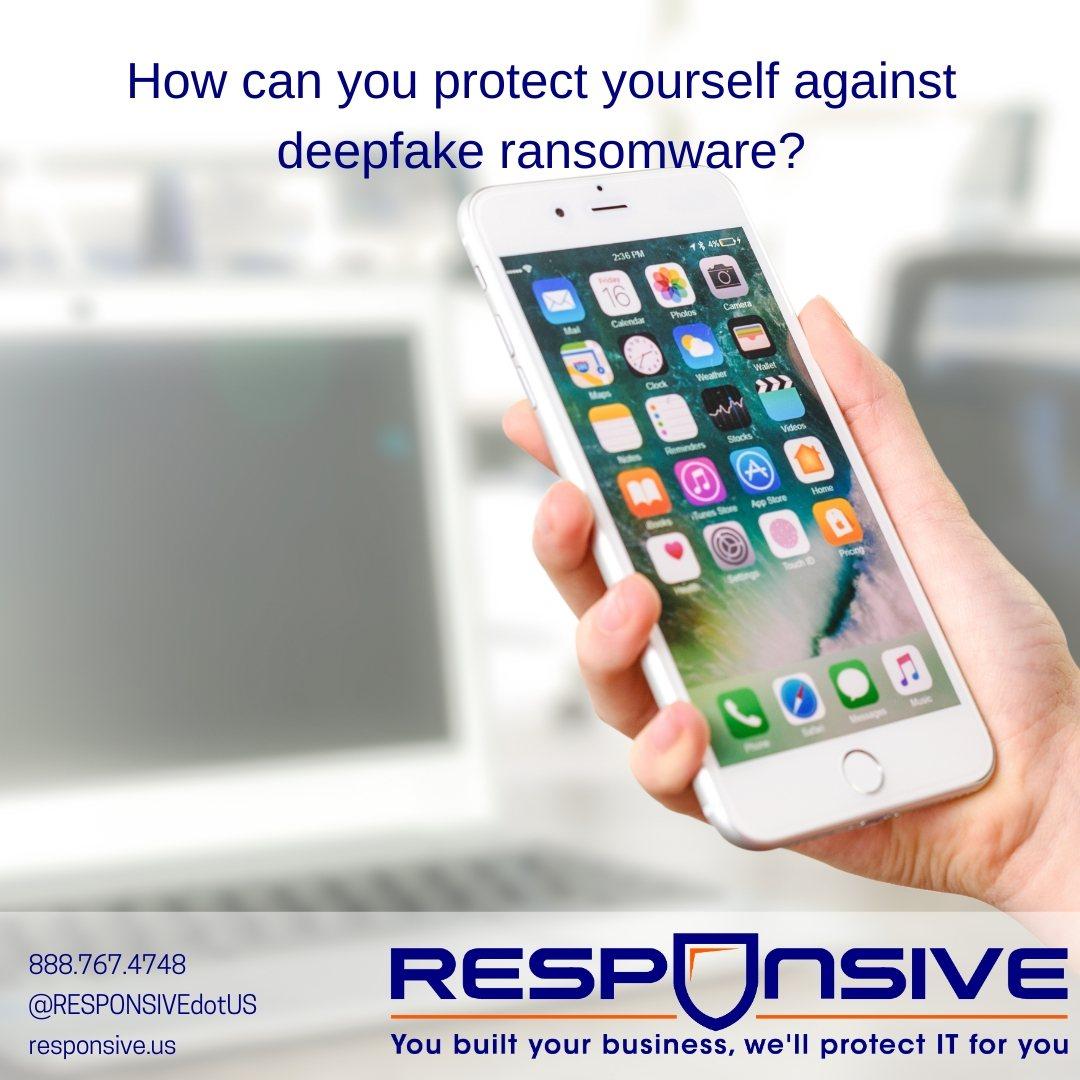Deepfake Ransomware